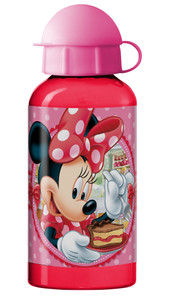 Disney Minnie Mouse Trinkflasche Aluminium 400 ml