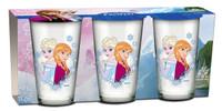 Die Eiskönigin - Frozen Gläser 3er Set 001