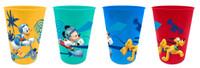 Disney Mickey Mouse Trinkbecher 4er Set 001