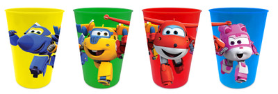 Super Wings Trinkbecher 4er Set