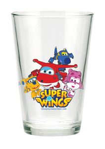 Super Wings Glas Gläser 3er Set