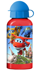 Super Wings Trinkflasche Aluminium 400 ml