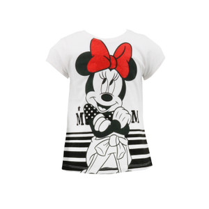 Disney Minnie Mouse T-Shirt Weiß