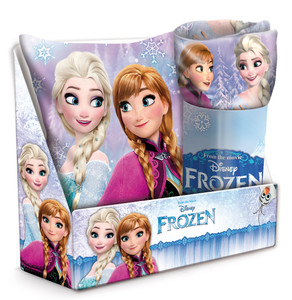 Disney Frozen Eiskönigin Kissen & Fleece-Decke SET
