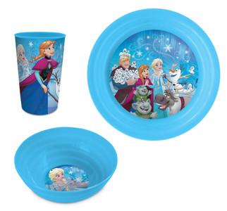 Disney Frozen Die Eiskönigin Geschirr-Set 3-tlg.