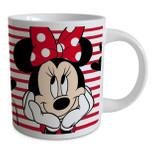 Disney Minnie Mouse Keramik Tasse Motiv Streifen 001