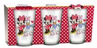 Minnie Mouse Gläser 3er Set 001