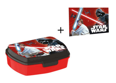 Star Wars Brotdose Lunchbox & Waschlappen