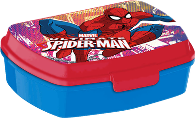 Spiderman Brotdose Lunchbox & Waschlappen