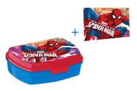 Spiderman Brotdose Lunchbox & Waschlappen 001