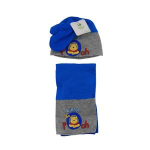 Disney Baby Winnie Pooh Winter-Set 3-tlg Mütze, Schal & Handschuhe