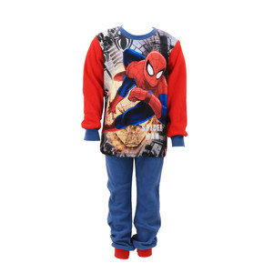 Marvel Spiderman Coral Fleece Schlafanzug Pyjama