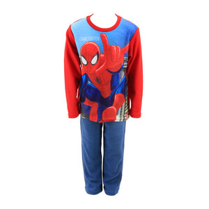 Marvel Spiderman Micro Polar Fleece Schlafanzug Pyjama