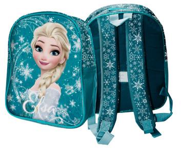 Disney Frozen Die Eiskönigin Elsa Rucksack mit Glitzer-Effekten 34 cm