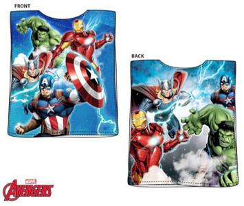 Marvel Avengers Kinder Badeponcho Handtuch aus Baumwolle