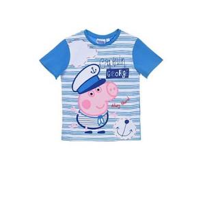 "Peppa Wutz Pig Kinder T-Shirt "" Captain George"""