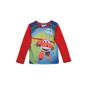 "Super Wings Kinder Jungen Langarm-Shirt ""Jett"""