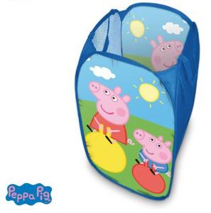 Peppa Wutz Pig Wäsche-Korb Spielzeug-Box