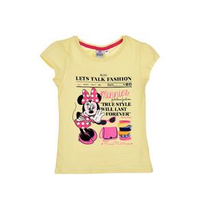 Disney Minnie Mouse Mädchen Kinder T-Shirt Gelb