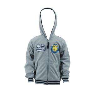 Minions Despicable Me Kinder Sweat-Jacke mit Kapuze Grau
