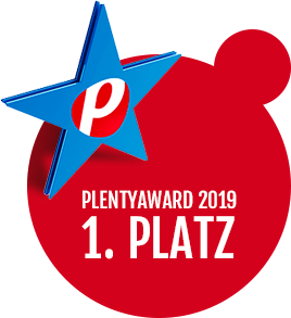 plentyAward 1. Platz 2019
