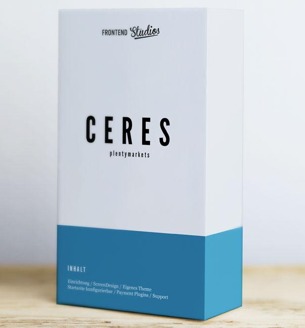 Wir erstellen dir deinen neuen Ceres Shop mit plentymarkets