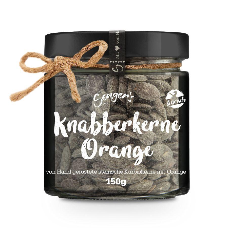 Senger's Kürbis Knabberkerne Orange