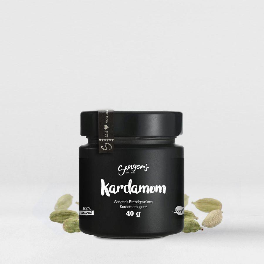 """Sengers Einzelgewürz """"Kardamom, ganz"""" - geprüfte Qualität ohne Zusatzstoffe - Natur Pur - aus Österreich"""