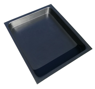 Kotschale, Kotwanne, Kotkiste 710 x 620 x 70  mm aus 4 mm Kunststoff – Bild 1