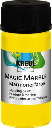 Magic Marble Marmorierfarbe Zitron