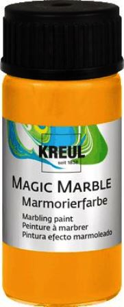 Magic Marble Marmorierfarbe Sonnengelb