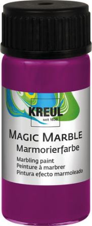 Magic Marble Marmorierfarbe Magenta