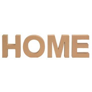 Pappbuchstaben Set HOME
