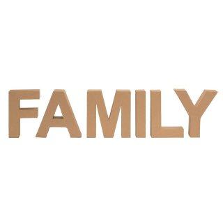 Pappbuchstaben Set FAMILY
