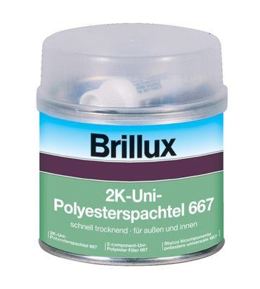Brillux 2K-Uni-Polyesterspachtel 667 inkl. Härter