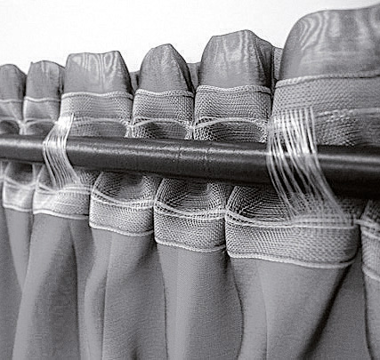 Stegband mit Smokfalte - 1 : 2,5