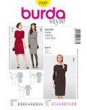 Burda Schnittmuster - 7137 - Kleid  001