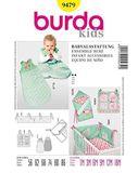 Burda Schnittmuster - 9479 - Kinder Babyausstattung 001