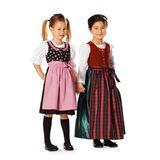 Schnitt - 9509 - Mädchen-Dirndl 001