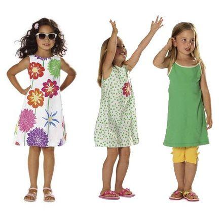 Schnitt - 9544 - Kleid mit rundem Ausschnitt