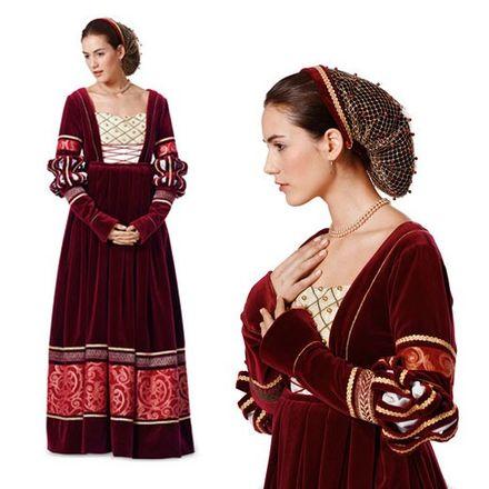 Schnitt - 7171 - Historisches Kleid, Renaissance