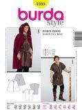 Burda Schnittmuster - 7333 - Kostüm - Robin Hood, Knecht 001