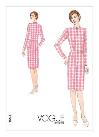 Vogue Schnittmuster V1004 - Damen Kleid
