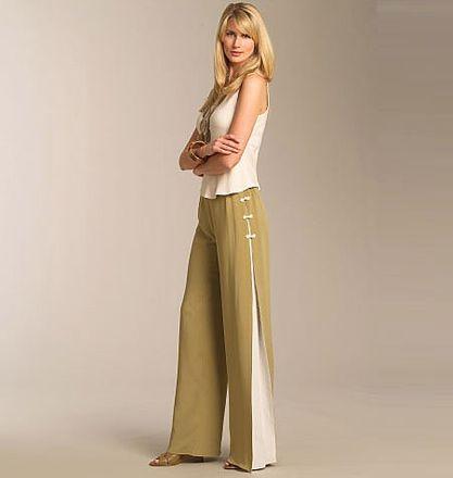 Vogue Schnittmuster V1050 - Damen Hose – Bild 2