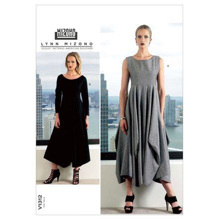 Vogue Schnittmuster V1312 - Damen Kleid