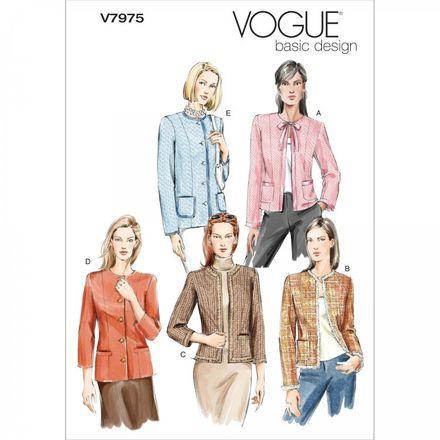 Vogue Schnittmuster V7975 - Damen - Blazer