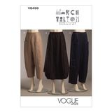 Vogue Schnittmuster V8499 - Damen - Rock & Hose 001