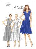 Vogue Schnittmuster V8577 - Damen - Kleid 001