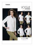 Vogue Schnittmuster V8689 - Damen - Bluse 001