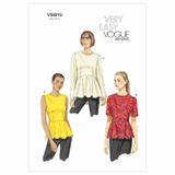 Vogue Schnittmuster V8815 - Damen - Shirt 001